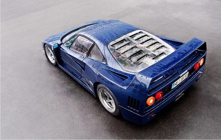 Blu Pozzi F40