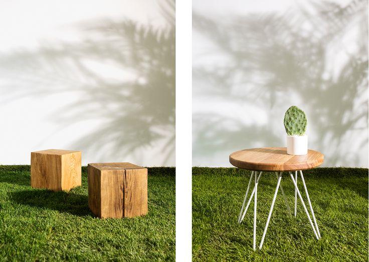 IN WOOD WE TRUST     https://www.facebook.com/inwoodwetrustpolska/    photo: Malwina Wachulec http://malwinawachulec.com/    #wood #woodworking #malwinawachulec #inwoodwetrust #woodporn #woodproject #design #wooddesign #table #woodtable #stool #block #furniture #wooden furniture #polishdesign