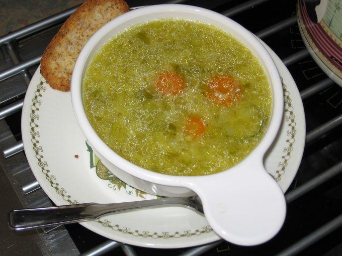 Un bouillon de légumes