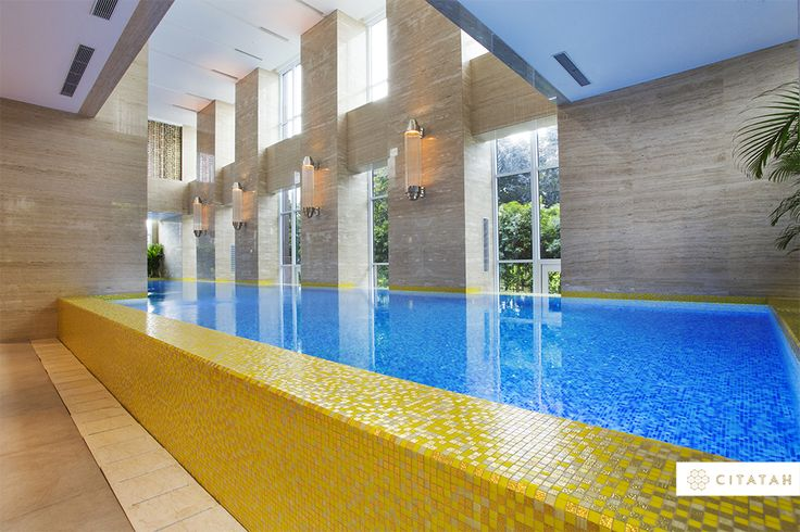 Here's another one of our breathtaking #Bisazza projects. You can find this beautiful pool at The Pakubuwono Signature, South Jakarta.