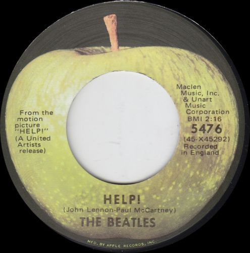 The-Beatles-45-Help-I-039-m-Down-7-034-Rock-1971-Apple-Records-5476