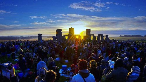 Go to Stonehenge for the Summer or Winter Solstice when it's a free admission for all! :D