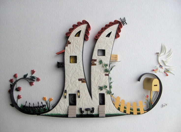 Quilled M: Suzana Ilic, Crafts Ideas, Amazing Quilling, Paper Art, Con Fun, Filigrana 1Quill, Quilling Art, Artists Suzana, Marilyn Houses