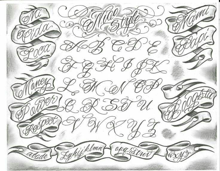 Pin de Deyvid Ferreira em Lowrider Tipos de letra para