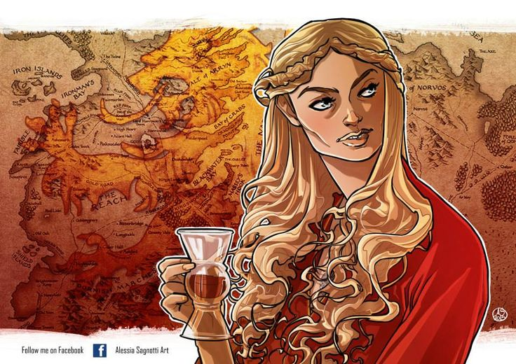 Cersaie Lannister _Game of Thrones tribute by Alessia Sagnotti