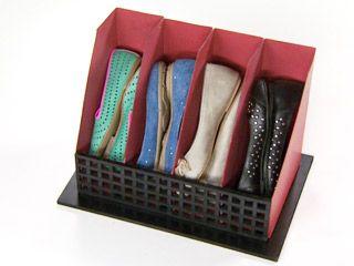 Manualidades y Artesanías | Organizador de sandalias | Utilisima.com
