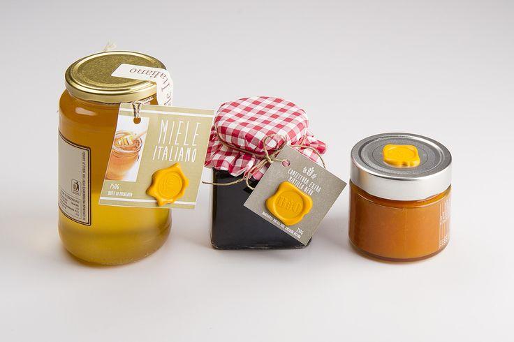 Sigilli Livingcap per personalizzare le etichette di mieli, marmellate, confetture e conserve!