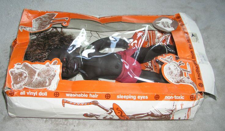 VINTAGE NETTA DOLL ABORIGINAL DOLL AUSTRALIAN BOXED | eBay