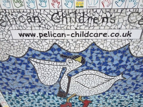 Art Attack!!    Rather than dispose of all our damaged tiles we gave them to local artist Sammy lou. And here's the fantastic results!!