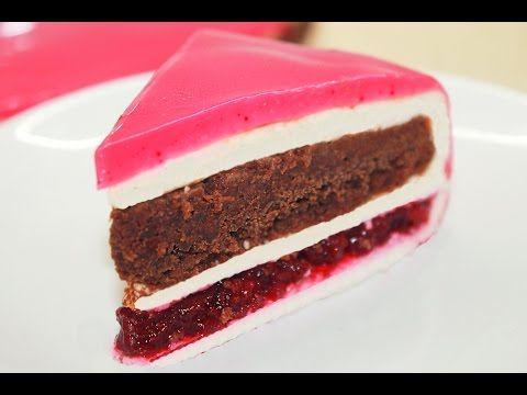 Муссовый торт Шоколад Вишня | Mousse Chocolate Cherry Cake Recipe - YouTube