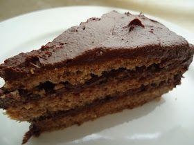 LCHF-bloggen: Nøttekake med sjokoladefyll