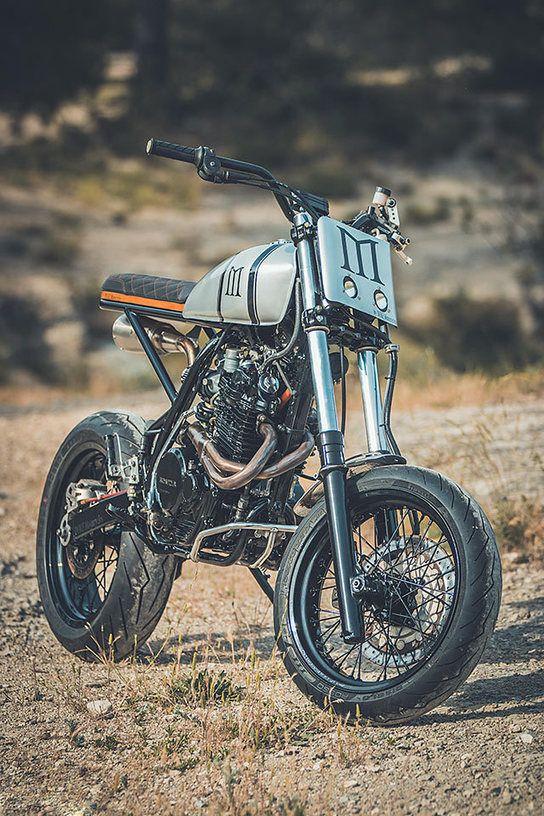 HIGH & MIGHTY. Duke Motorcycles' Stunning Honda XR600 Enduro
