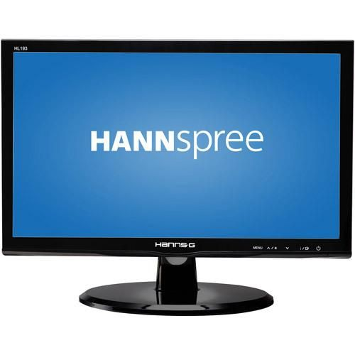 The Hannspree 19in LED-LCD Widescreen Monitor provides true-to-life pictures with a 30,000,000:1 Active Contrast Ratio. It offers wide viewing angles and tilting functionality that offers... More Details