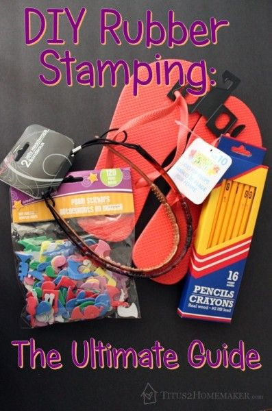 DIY Rubber Stamping: The Ultimate Guide   #t2hmkr
