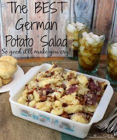 The BEST German Potato Salad – Learn the secrets that make this the BEST German …