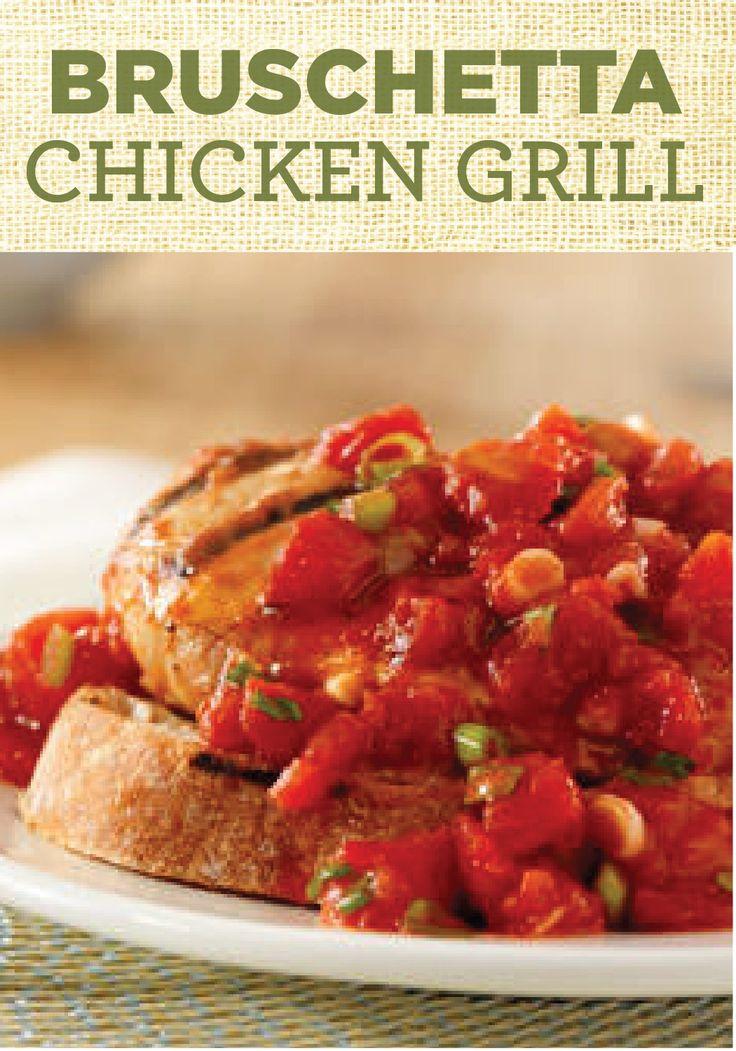 ... them into this delicious Hunt's® Bruschetta Chicken Grill recipe