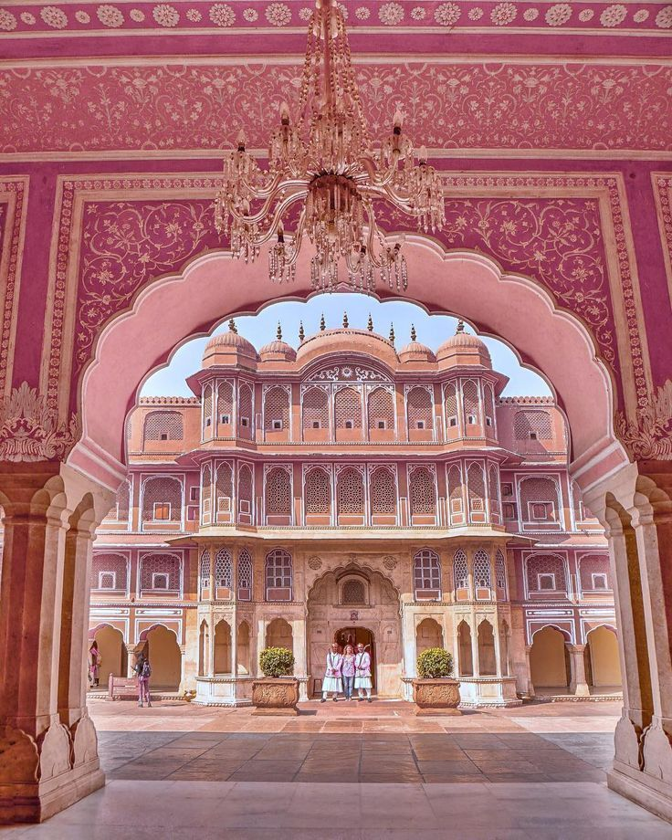 City Palace Jaipur With Sarah Traveling Nature Jaipur Citypalacejaipur And City Citypal City Palace Jaipur India Travel Places India Architecture