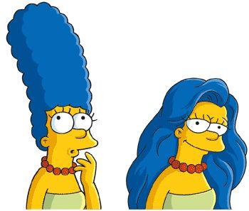 Marge Simpson for Dove | Célèbre | Fun | Pinterest | Clipart ...