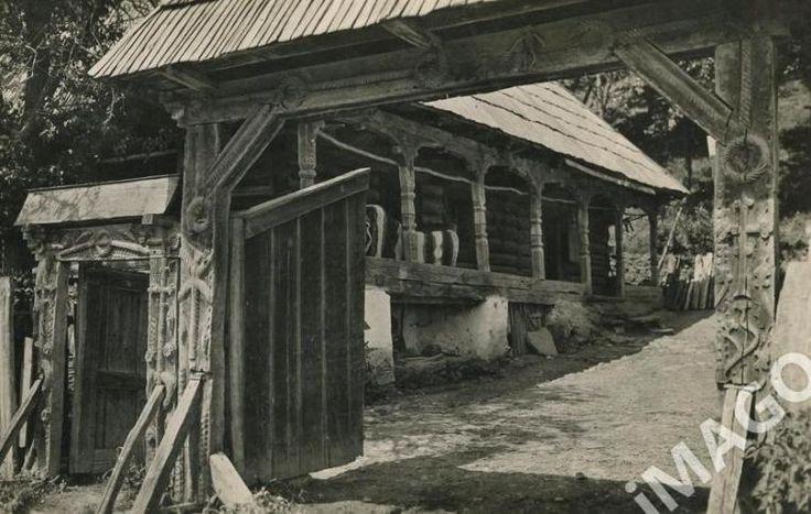old transilvania Romania traditional  romanian house