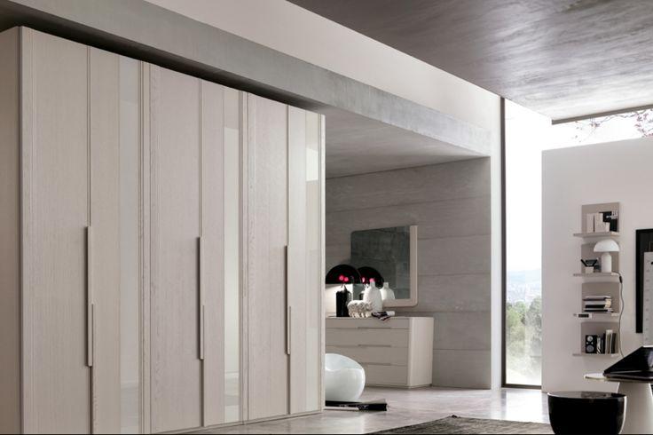 #letto #camera #zonanotte #comfort #funzionale #tradizionale #legno #mobile #armadio #fasolin #specchi