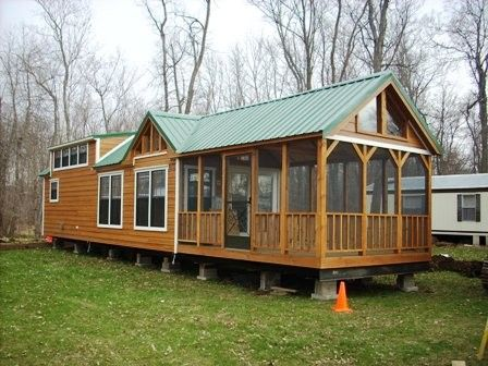 Best 25 Log cabin mobile homes ideas on Pinterest