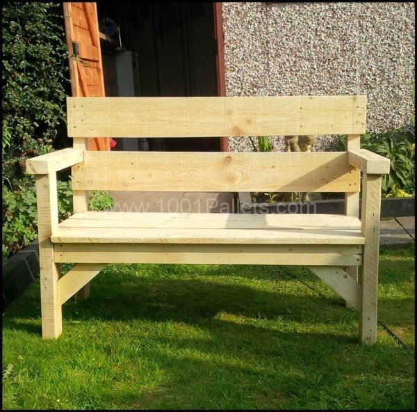 Pallet Garden Bench Benches & Chairs Lounges & Garden Sets