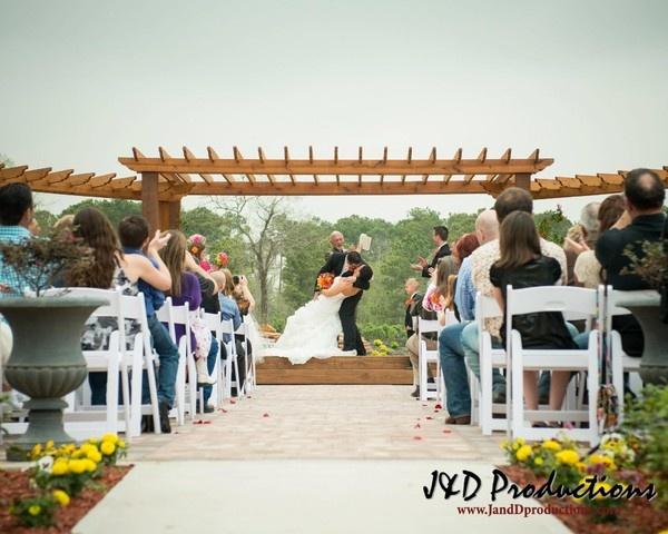 Tuscan Courtyard Wedding Ceremony Reception Venue Texas