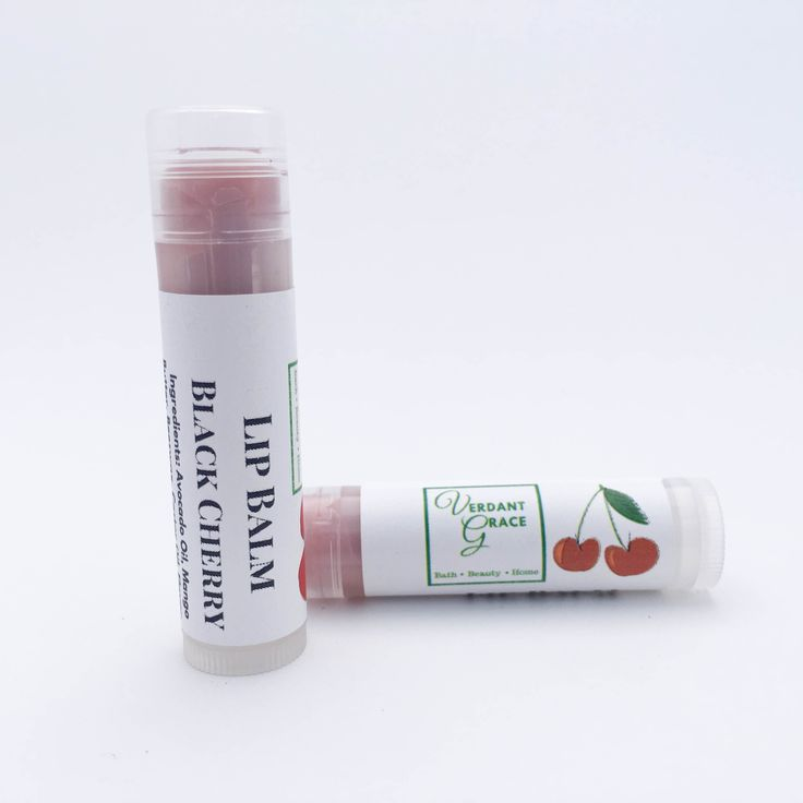 Black Cherry Lip Balm .15 oz