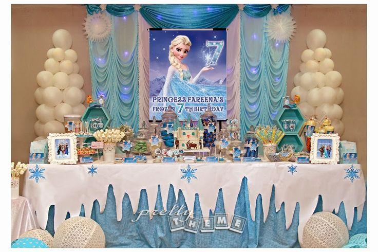 frozen candy buffet | Frozen candy buffet at Melaka