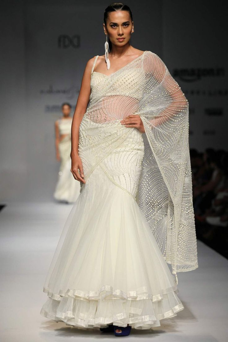 The six yards of Indian fabric has always been a bride's best friend. South-Indians cannot do without it - every other state has it's own version of a drape and well, even lehengas nowadays are trying to impersonate saris. And...