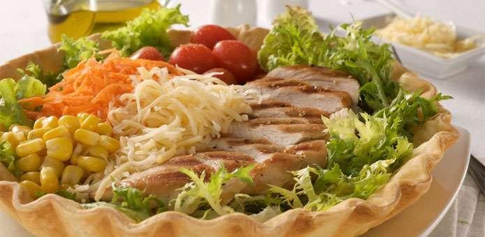 La Salteña | Recetas | Ensalada en Canasta Light