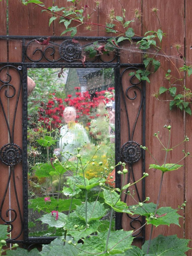 Secret Garden: 11 Best Images About Mirror, Mirror, On The Fence... On
