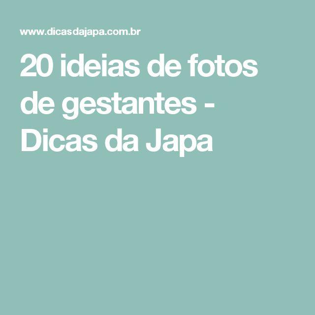 20 ideias de fotos de gestantes - Dicas da Japa