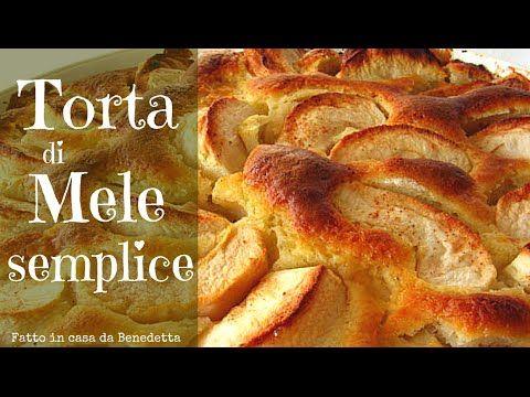 TORTA DI MELE SEMPLICE FATTA IN CASA DA BENEDETTA - Easy Homemade Apple ...