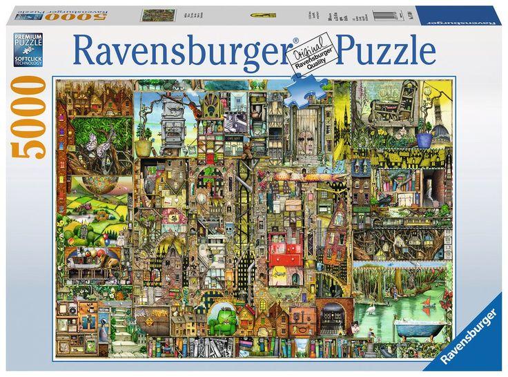 Bizarre Town - 5000 Piece Jigsaw Puzzle