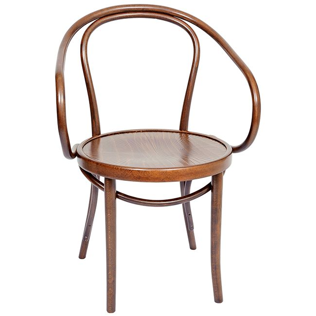 Bentwood B9 Michael Thonet Designed Chair - Walnut.   A timeless, classic original bentwood chair. Often used in the designs of the well-known and respected French architect Le Corbusier.  Available online at www.jmh.furniture   Delivery Australia Wide
