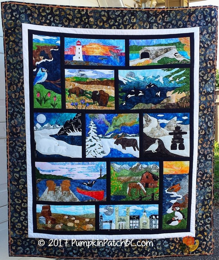 Oh Canada Canadian Mystery Quilt - my version