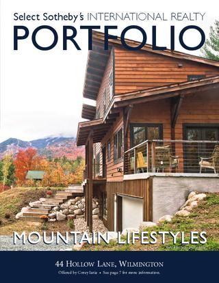 Select Sotheby's International Realty PORTFOLIO Mountain Lifestyles - Winter 2012