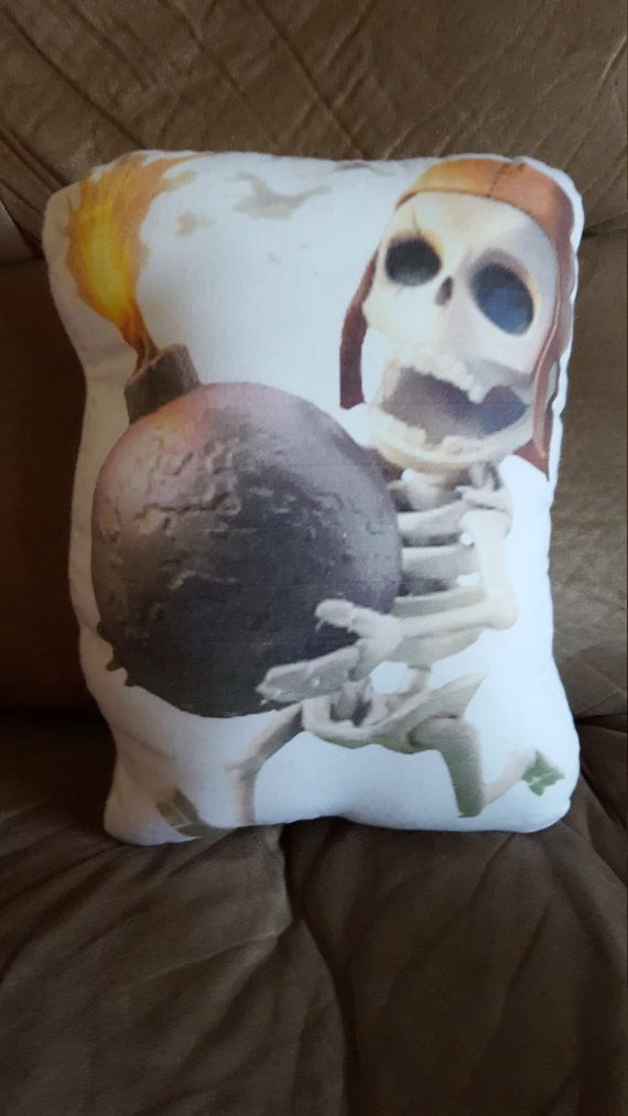Clash of Clans Wallbreaker plush pillow by Fanbustion on Etsy