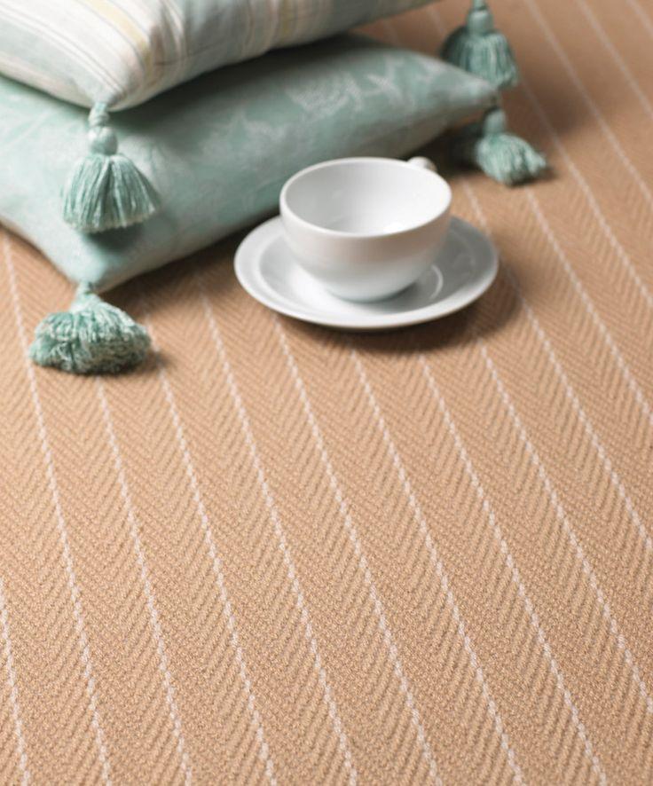 Flatweave Stripes. CF 04 Carpet   Hartley & Tissier. www.hartleytissier.com