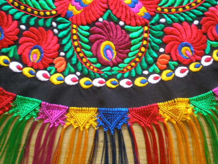 Matyó embroidery from Hungary no. 5. :)
