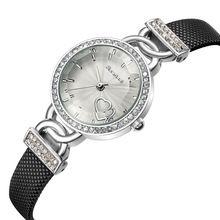 Relogio feminino Mujeres Relojes de Pulsera de Las señoras vestido Reloj de Cuarzo reloj de Cuero de Moda Femenina erkekler Saat reloj de mujer 2017(China (Mainland))