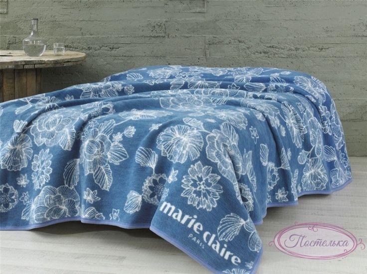 Покрывало-плед Marie Сlaire - Pania синее