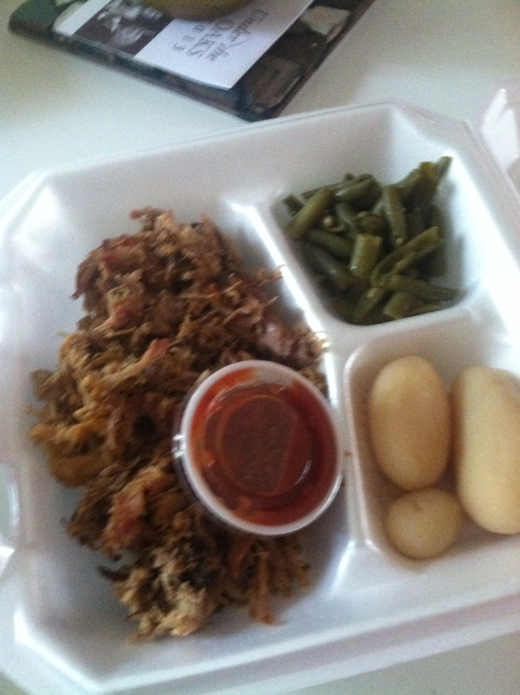Eastern North Carolina BBQ- forget that red sauce!!