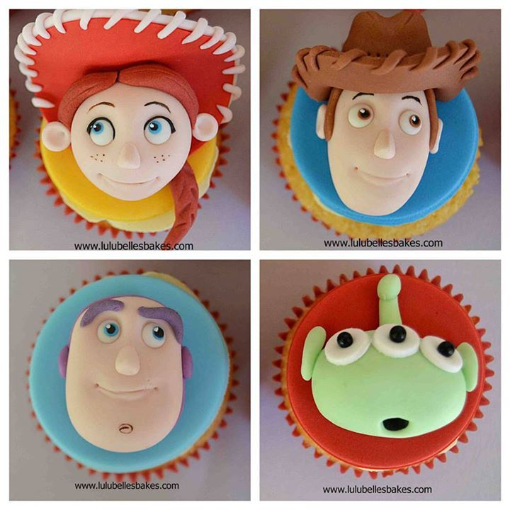 Toy Story Cupcake Toppers Cupcake Toppers Pinterest