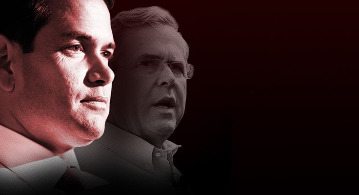 How Marco Slew His 'Mentor' It's seen as one of the great political betrayals of our time. But for Jeb, insiders say, the truth may be even more embarrassing.   Read more: http://www.politico.com/magazine/story/2016/02/marco-rubio-slew-jeb-bush-mentor-2016-213652#ixzz44zmUBZOe  Follow us: @politico on Twitter | Politico on Facebook