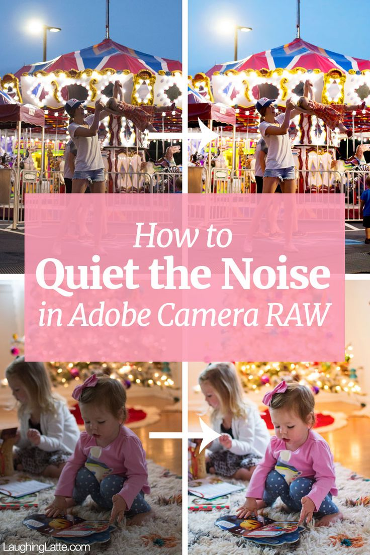 How to reduce noise in Adobe Camera RAW and eliminate the grain
