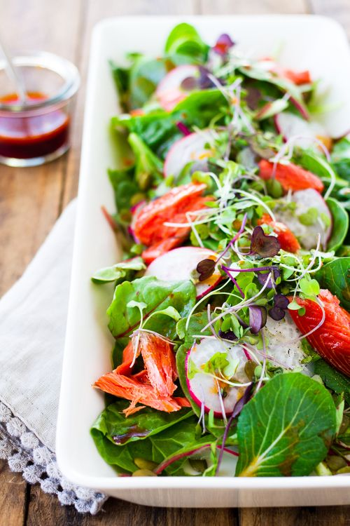 Cowberry recipes for salmon