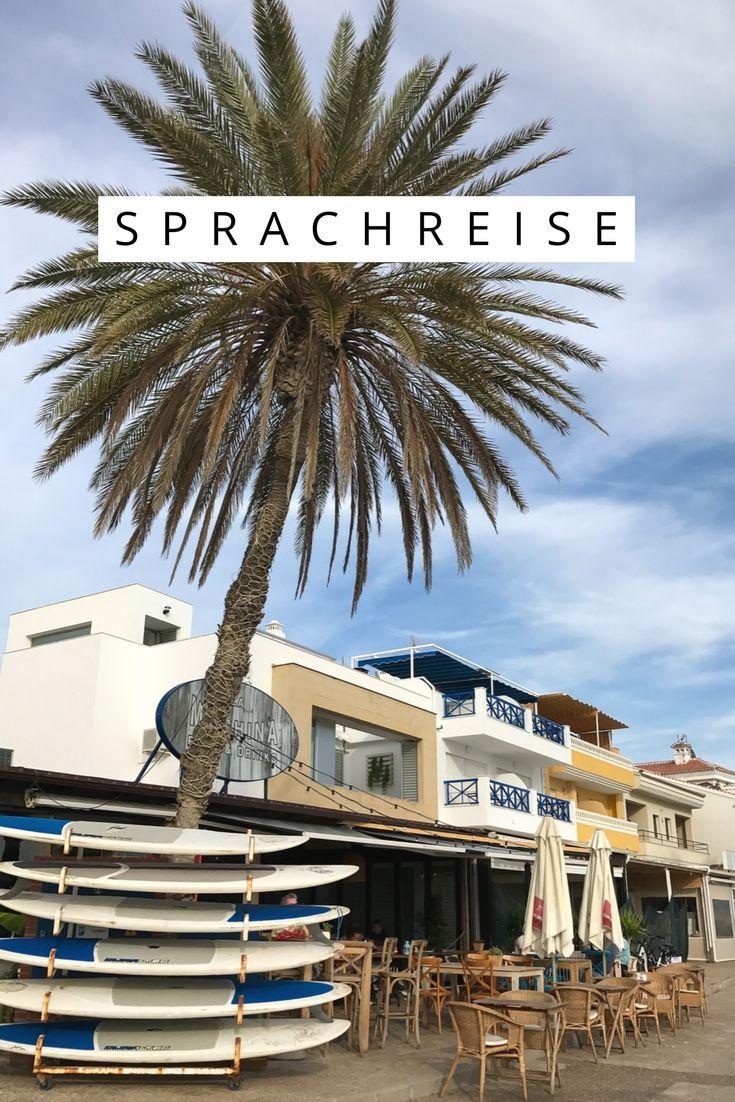 (Werbung) Sprachreise Malaga mit Strand, Pool & Tapas #Sprachreise #Sprachkurs #Sprachschule #Spanien #Andalusien #Malaga
