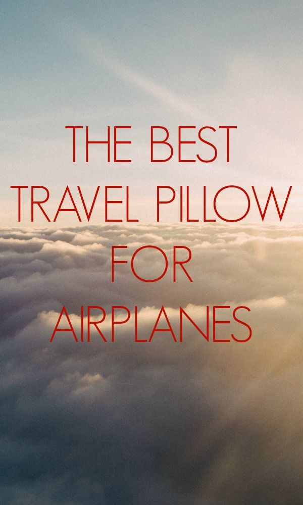 Tired of neck pains and long sleepless plane rides? We reviewed the BEST travel pillows out there! //// sweetdistance.com //// #travel #traveling